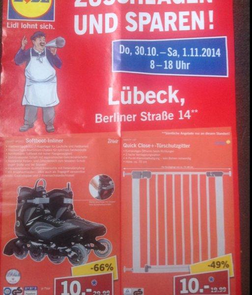 Lidl Lokal in Lübeck