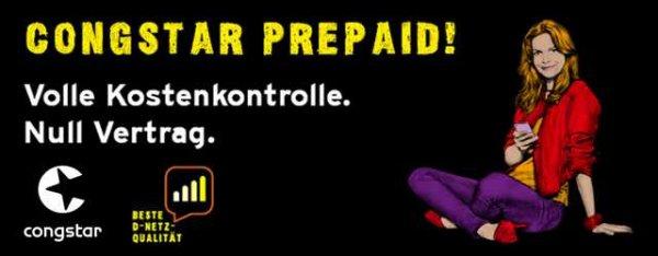 50% Rabatt auf congstar Prepaid Starter Pack Evtl auch für Zahlungen im PSN Etc