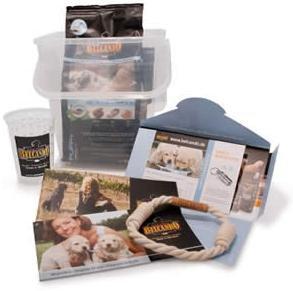 (Belcando Hundefutter) Kostenlose Welpenpakete (1kg Belcando® Puppy Gravy + Belcando® Spielseil + Broschüren) NUR für Züchter – mehere Pakete je nach Anzahl der Welpen bestellbar