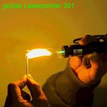 [Banggood] starker Laserpointer 301 GRÜN [8,10 Euro +11Cent] netherland direktmail