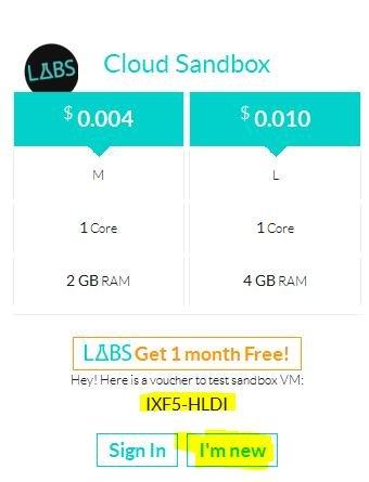 Sandbox Server von OVH ableger für 14 Monate gratis