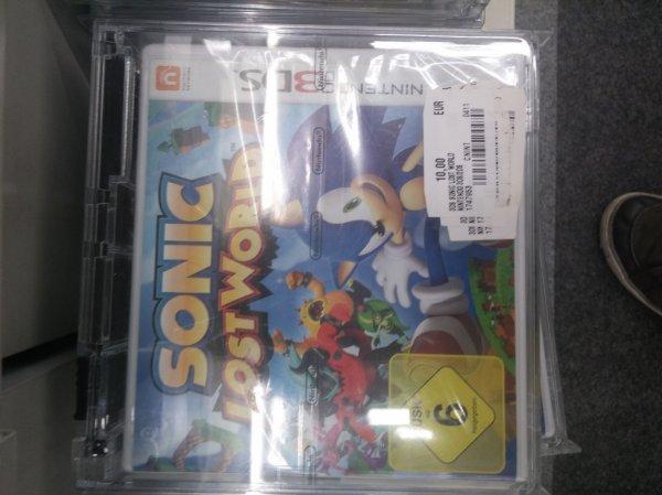 (Lokal Schweinfurt MM) Sonic Lost World für Nintendo 3DS