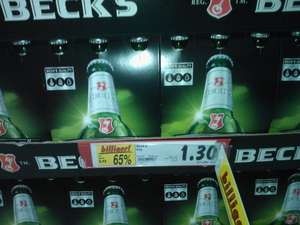 Beck's SixPack (6x0.33l) (Normal/Gold/Ice) 1.30€ (~65ct/l) - Kaufland Bottrop