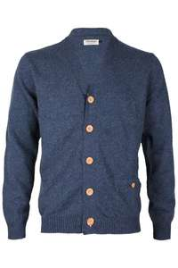 JACK AND JONES Herren Major Strickjacke 12068117 Blau