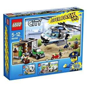 LEGO City, 66492 Police Super-Pack 3 in 1 beim Real für 50,96