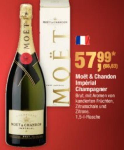 [Metro] Moet & Chandon Impérial Champagner Magnum 1,5 Liter Flasche
