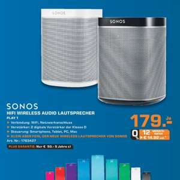 SONOS Play:1, Saturn Ludwigshafen