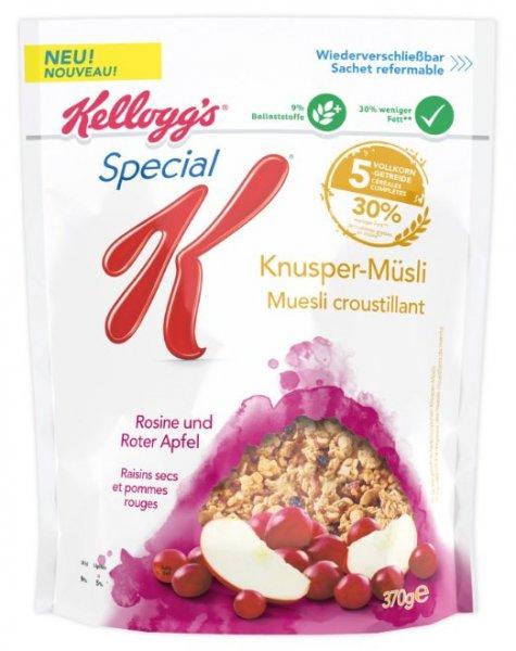 [Amazon Sparabo] Kellogg's Special K Knusper-Müsli 4er Pack