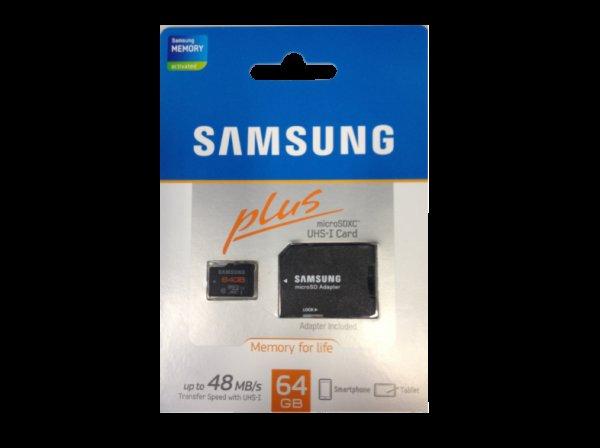 [Österreich] Mediamarkt.at - 71MB/s LESEN!!! - SAMSUNG MicroSDXC Plus 64GB - 23 Euro