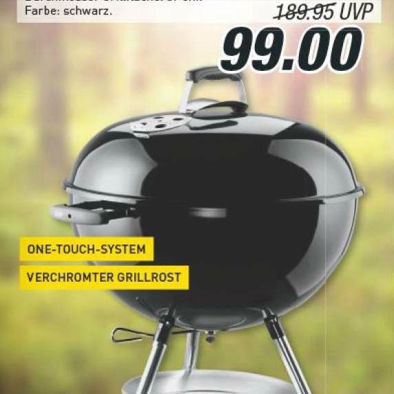 [lokal] Weber one Touch 57 ab 29.10. für 99,-, Anzündkamin 11,11 EUR bei Marktkauf Rhein-Ruhr / OWL
