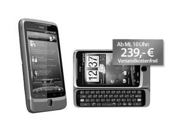 HTC Desire Z - Mittwoch ab 10Uhr bei MeinPaket.de