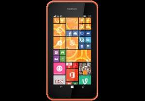 Nokia Lumia 530 Dual-Sim orange für 85€