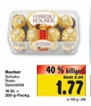 [Bundesweit?]Ferrero Rocher 200g Packung für 1.77€ ab Donnerstag 30.10@Kaufland