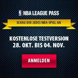 NBA LEAGUE PASS - Kostenlose Testversion