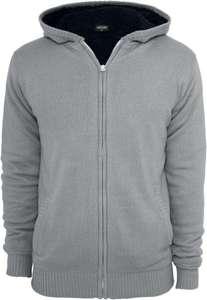 Urban Classics Knitted Winter Zip Hoody (S,L,XL, XXL) für 43,94 @emp.de