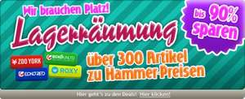 Lageräumung 300 Styles @4clever.de