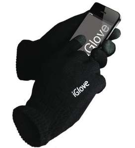 Original iGloves Handschuhe in schwarz (One Size) für 9,79€ € Amazon Marketplace