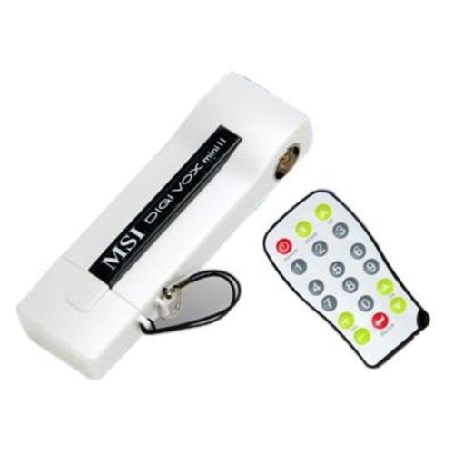[3% Qipu] MSI Digi VOX mini II V3.0 USB 2.0 DVB-T Empfänger weiss inkl. Arcsoft Total Media 3.5 Software für 7,90€ zzgl. 2,90€ Versand