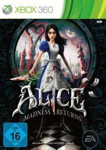 Alice: Madness Returns (xbox)  -  Vergleichpreis 30,99€ CD Version