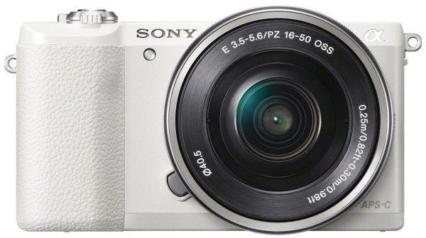 Sony Alpha 5100 schwarz mit Objektiv AF E 16-50mm schwarz u. weiß inkl. Vsk für 497 € > [amazon.uk]