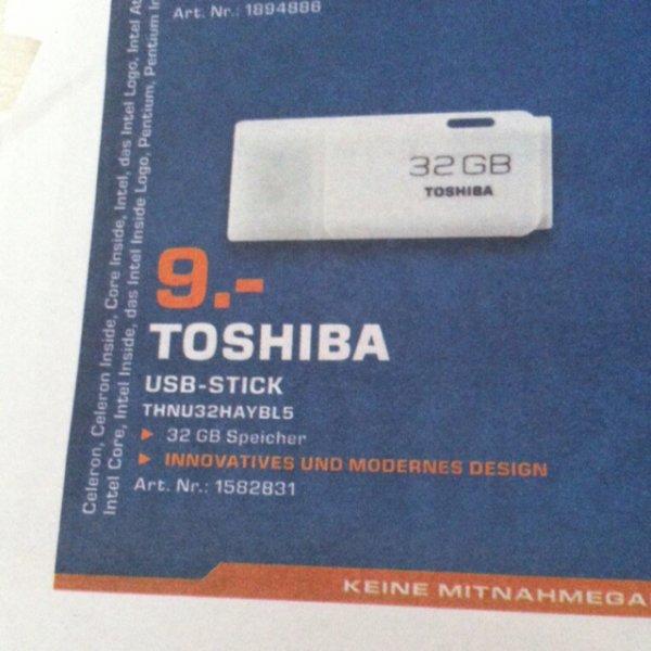 [lokal Saturn Esslingen] Toshiba USB 2.0 Stick Hayabusa thnu32haybl5