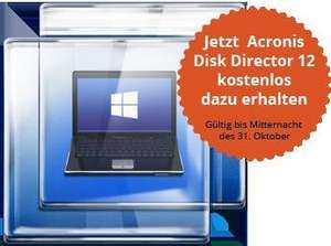 Acronis True Image 2015 + Acronis Disk Director 12 (Halloween Angebot) für ca. 35,49 EUR