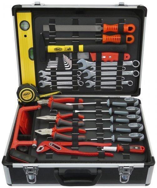 FAMEX 744-98 Werkzeugkoffer mit Universal-Werkzeugbestückung - OBI.de