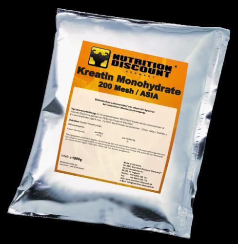 1KG NDG Kreatin Monohydrat für 9,99 inkl. Versand