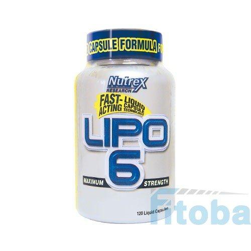 Nutrex Lipo-6 Fatburner 120Kapseln