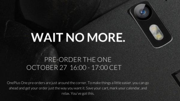 SCHNELL SEIN!!! OnePlus One Vorbestellaktion verlängert bis HEUTE 19:00 Uhr 27.10.14, 269€ 16GB, 299€ 64GB