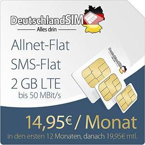 [ Amazon ] - DeutschlandSIM PremiumSIM LTE M