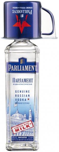 Wodka PARLIAMENT bei Real für 8,99€ (ggf. Edelstahlbecher dabei)