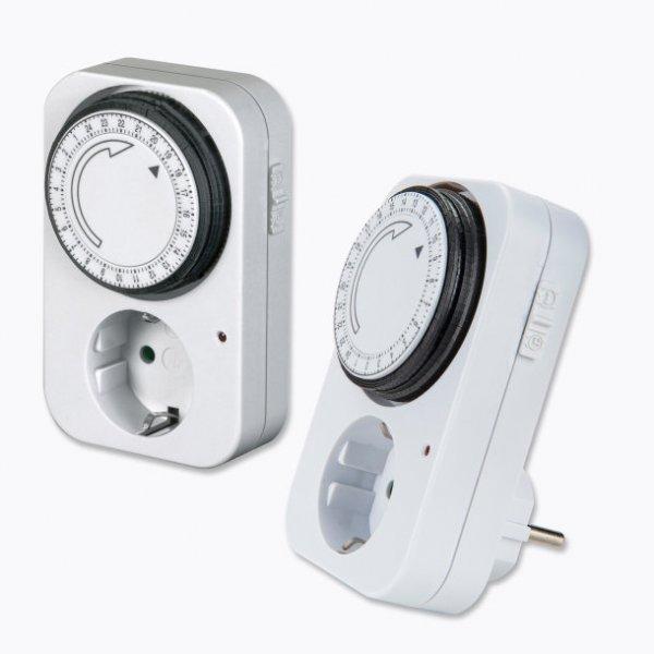 [Aldi-Nord] Versch. Zeitschaltuhren(mechanisch oder digital) für Innen oder Außen z.B. 2er-Packung Innen für 4,59€