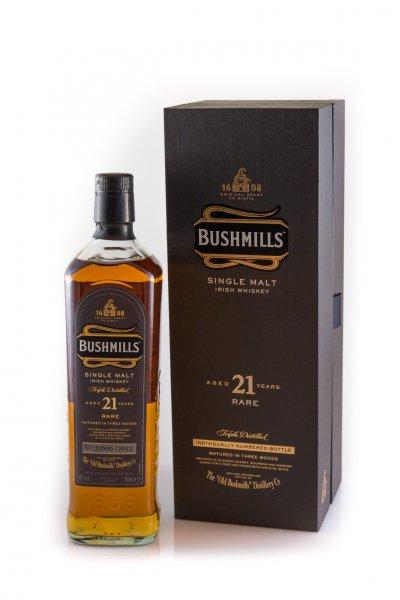 Whiskey: Bushmills 21 Madeira Finish
