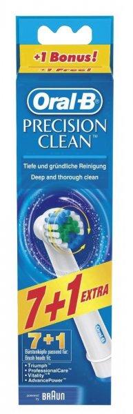 Oral-B Precision Clean 8 stück @ VOELKNER für 14,99 versandkostenfrei (1,87 €/St.)