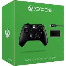 Microsoft Xbox ONE Wireless Controller inkl. Play and Charge Kit