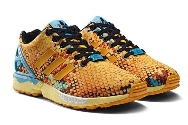 [asphaltgold] Adidas ZX Flux Print Cool Gold Snake 69€ lokal / online 74€