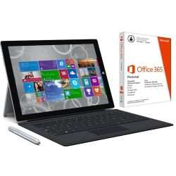 Surface Pro 3, 128GB - inkl. Office & Type Cover 3 - 999 Euro