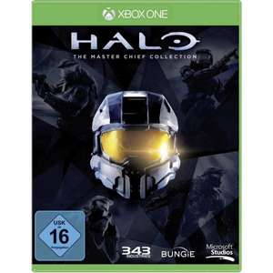 Halo: The Master Chief Collection (deutsch) (Xbox One) für Leute mit 10 EUR Conrad-Gutschein 44,99