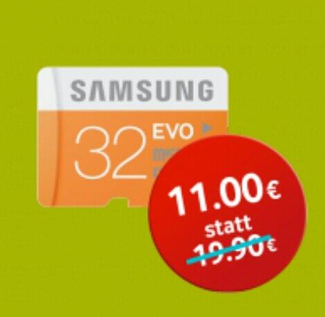 Samsung Micro SDHC Class 10 Evo 32 GB
