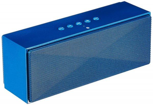 AmazonBasics Tragbarer Bluetooth-Lautsprecher - Blau-Schwarz-Weiß-Rot