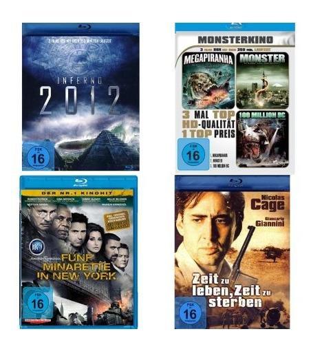 Blu-ray Collection - 8 Filme für 12€ @Amazon.it