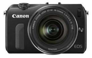 Canon EOS M Systemkamera Kit für 289€ @amazon