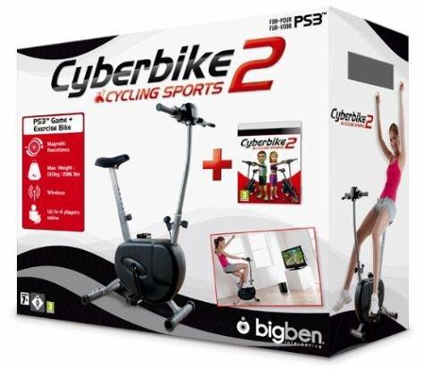 Cyberbike 2 inkl. Fahrrad für PlayStation 3 / Idealo ab 94€