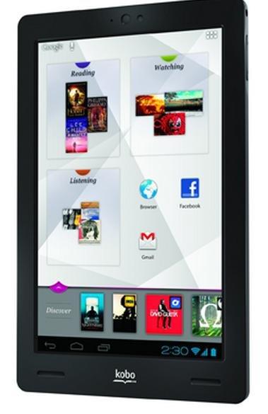 Kobo Arc (64GB) Tablet-PC weiß