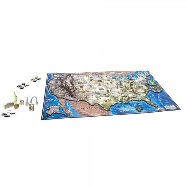 4D Cityscape Inc. 4D-Puzzle USA Puzzle Puzzlespiel für 13,49€ +  4,95€ VSK @ Ebay
