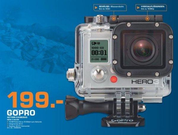 [Saturn Pforzheim] GoPro Hero3 Silver 199,- € / Canon 1200D inkl. EF-S 18-55mm 3.5-5.6 IS II 299,- €