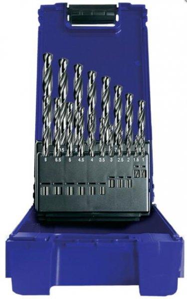 Heller Metall-Spiralbohrer-Set 19teilig geschliffen für 11,98€ inkl. VSK bei voelkner