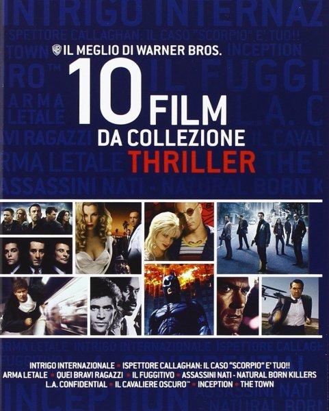 Warner Bros. Thriller Collection (10 Blu-Ray) für 24,92€ @Amazon.it