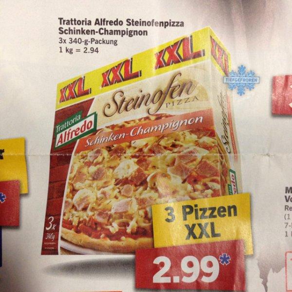 Steinofen PIZZA. XXL